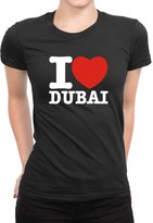 Idakoos - I love Dubai - Cities - Women T-Shirt