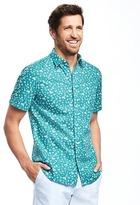 Old Navy Slim-Fit Floral-Print Shirt For Men