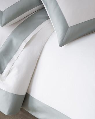 Sferra Modern Sateen Applique Full/Queen Duvet Cover