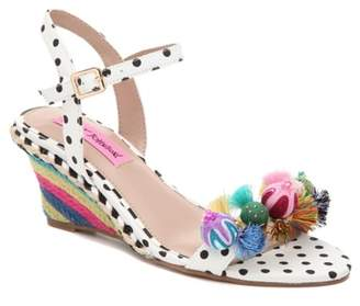 Betsey Johnson Koko Espadrille Wedge Sandal