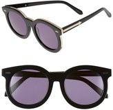 Karen Walker Women's Super Duper Thistle Retro Sunglasses