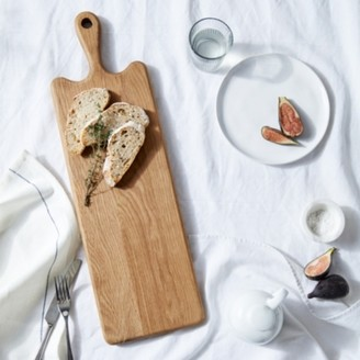 The White Company Oak Wooden Board Medium , Natural, One Size