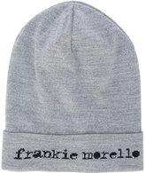 Frankie Morello logo beanie hat