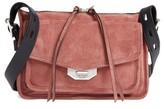 Rag & Bone Small Leather Field Messenger Bag - Pink