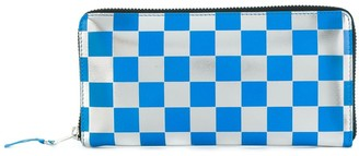 Comme des Garcons checked wallet