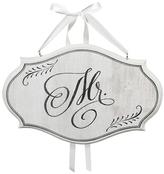 Lillian Rose 'Mr.' Oval Sign