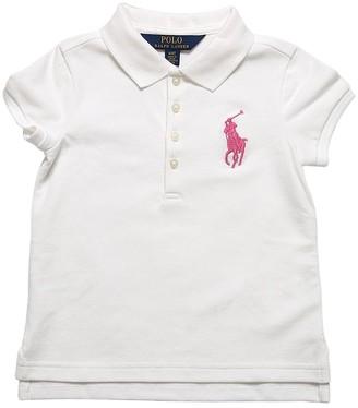 Ralph Lauren Embroidered Cotton Piquet Polo