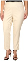 Nic+Zoe Plus Size Perfect Side Zip Ankle Pants