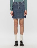 A.P.C. Jupe Standard Denim Skirt