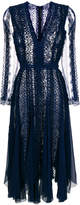 Ermanno Scervino panelled evening dress