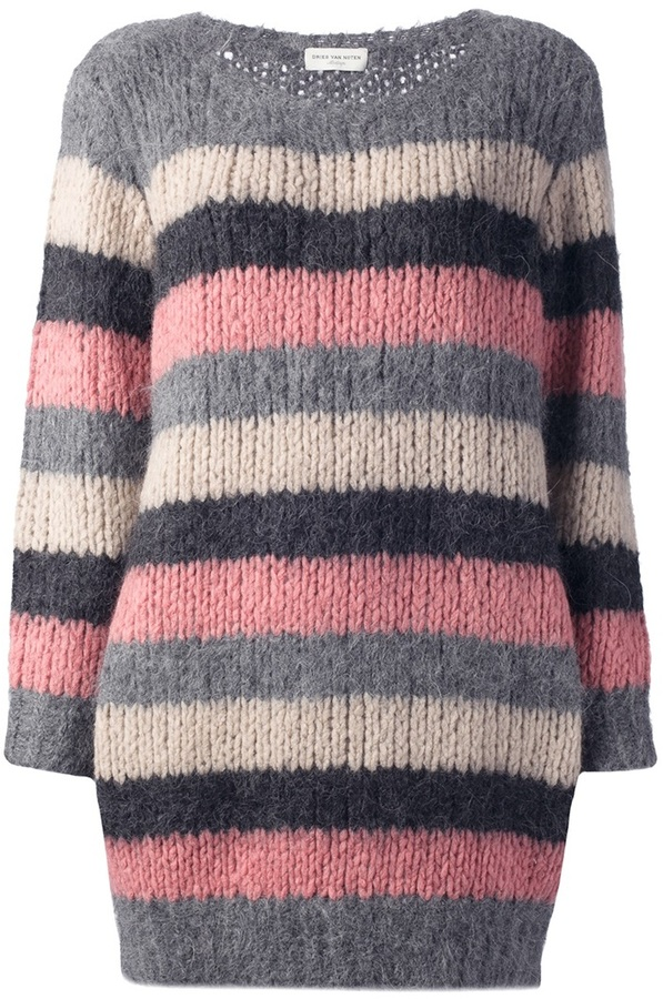 Dries Van Noten striped 'Timon' sweater