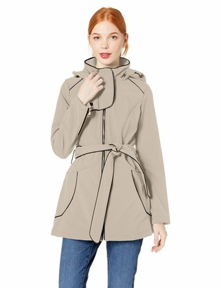 Steve Madden Women's Plus Size Softshell Fashion Jacket