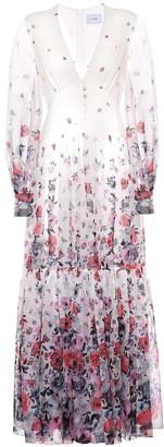 Erdem Tabetha floral silk-voile dress