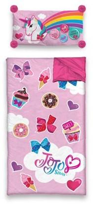 Nickelodeon JoJo Siwa Slumber Sleeping Bag with BONUS Pillow