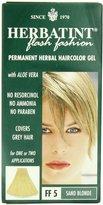 Permanent Herbal Hair Color Gel FF5 Sand Blonde by Herbatint - 1 piece