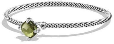 David Yurman 9mm Châtelaine Bracelet with Amethyst