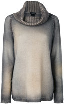 Avant Toi cashmere gradient top - women - Cashmere - M