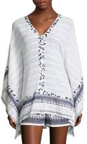 MICHAEL Michael Kors Paillettes Embellished Poncho