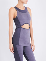 adidas by Stella McCartney Yoga Comfort stretch-jersey top