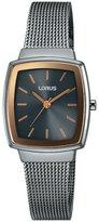 Lorus Women's RG293L Two-Tone Square Mesh Bracelet Wrist Watch