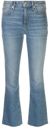 SLVRLAKE High Rise Flared Jeans