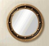 The Well Appointed House Black Federal Mirror with Gold Gilding