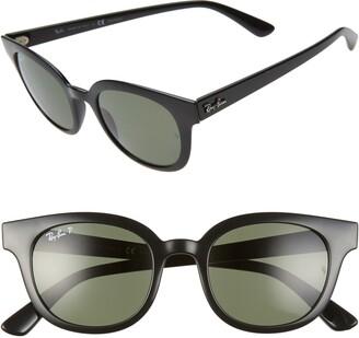 Ray-Ban 50mm Polarized Cat Eye Sunglasses