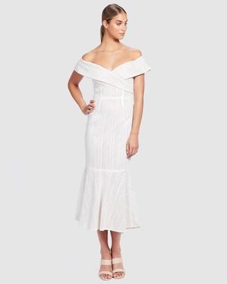We Are Kindred Marbella Off-The-Shoulder Dress