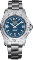 Breitling Colt 36 ladies' blue dial stainless steel bracelet watch