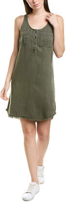 Splendid Tank Linen-Blend Shift Dress