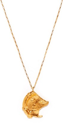 Alighieri Old Time's Sake 24kt Gold-plated Necklace - Yellow Gold