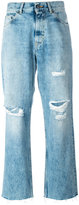 Golden Goose Deluxe Brand distressed straight jeans - women - Cotton - 28