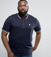 Le Breve Plus Tipping Slim Fit Polo Shirt