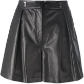La Perla 'Leisuring' shorts - women - Leather/Viscose - 44