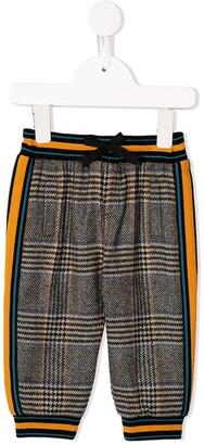 Dolce & Gabbana Kids Check-Tartan Trousers