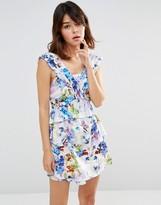 J.o.a. Panelled Mini Dress