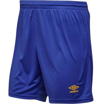 Umbro Mens Atlas Match Shorts Dazzling Blue/SV Yellow