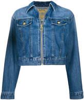 MICHAEL Michael Kors zip up jean jacket