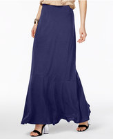ECI Ruffled Maxi Skirt