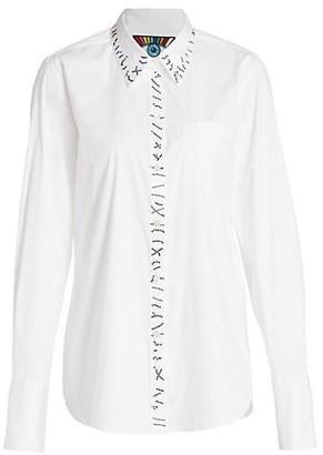 Libertine Embellished Stitch Classic Shirt