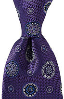 Daniel Cremieux Double Wheels Traditional Silk Tie
