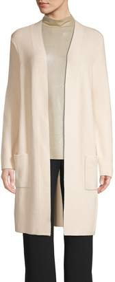 Halston H Open-Front Cardigan