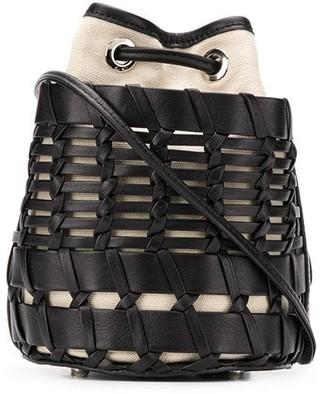 Hereu Siana woven style bucket bag