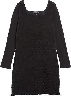 Trixxi Long Sleeve Smocked Dress
