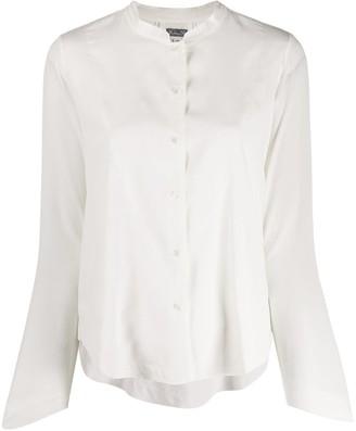Kristensen Du Nord Mandarin Collar Shirt
