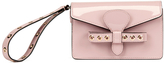 RED Valentino Women's Wristlet Clutch Bag Light Pink