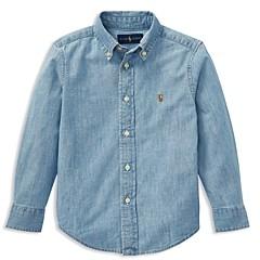 Ralph Lauren Boys' Chambray Button-Down Shirt - Little Kid