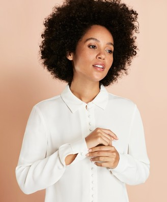 Brooks Brothers Crepe Blouse