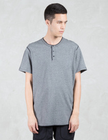 Reigning Champ Tiger Jersey S/S Henley T-Shirt