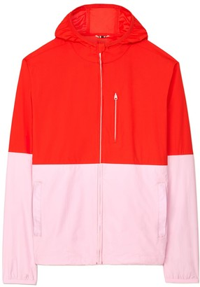 Tory Burch Color-Block Packable Jacket